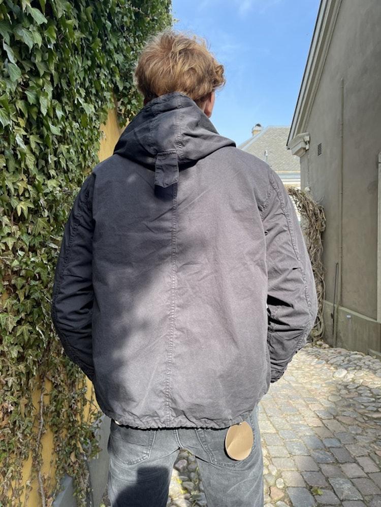 Hartford - Jerold hoody jacket - Black