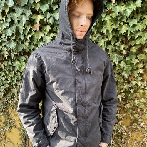 Hartford - Jerold hoody jacket - Black