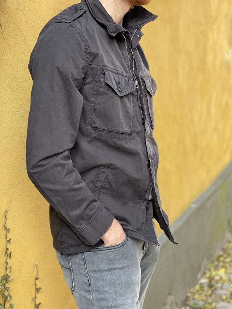 Hartford - Joshua military jacket - Black
