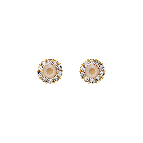 MISS SOFIA EARRINGS – OYSTER (GOLD)