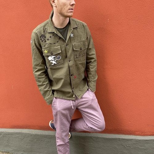 Taylor Tweed - Unisex Pasadena Padel Shirt - Military green