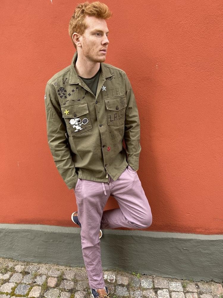Taylor Tweed - Unisex Pasadena Padel Shirt - Green