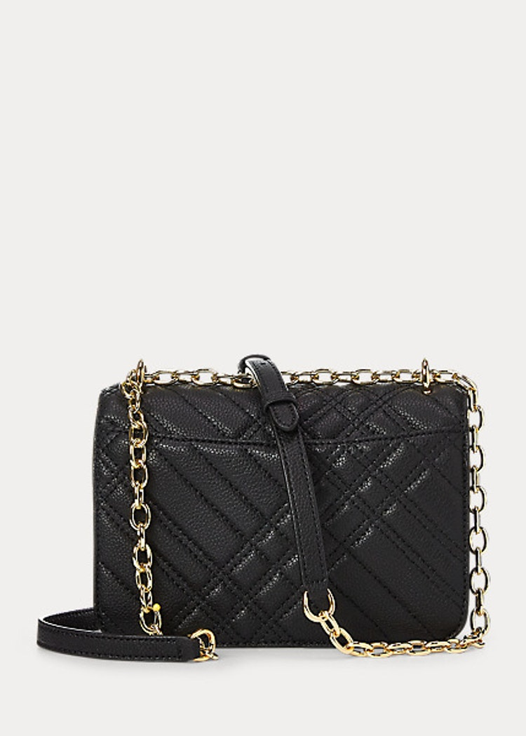 Ralph Lauren - Lauren - Plaid Quilted Madison Crossbody Bag - Black