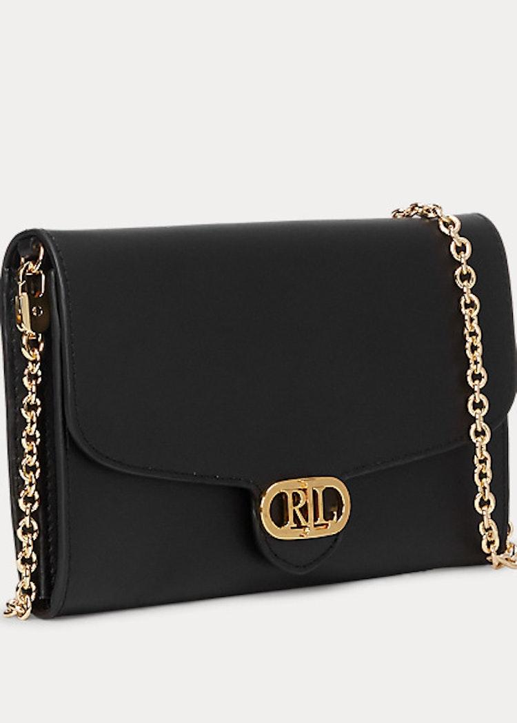 Ralph Lauren - Lauren - Leather Adair Small Crossbody - Black