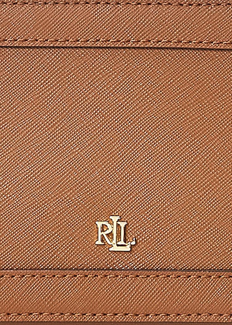 Ralph Lauren - Lauren - Crosshatch Leather Danna Crossbody - Tan