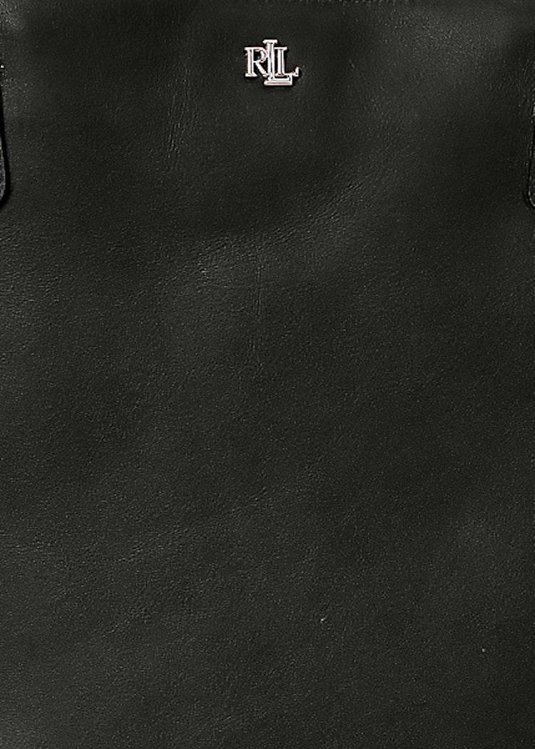Ralph Lauren - Lauren - Canvas Large Hutton Striped Tote - Black
