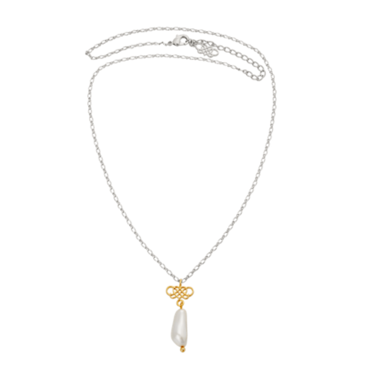 Lily and Rose - SIGNATURE PEARL NECKLACE – IVORY GOLD