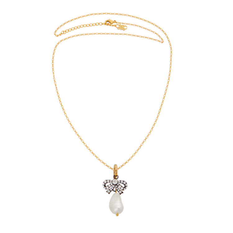 Lily and Rose - ANTOINETTE PEARL NECKLACE – SAPPHIRE PEARL