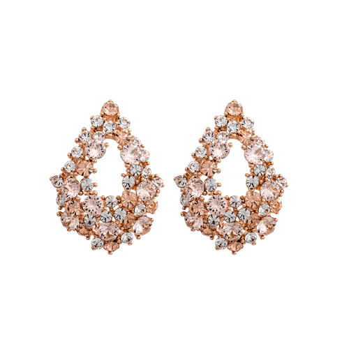 Lily and Rose - ALICE EARRINGS – SILK (ROSE GOLD)