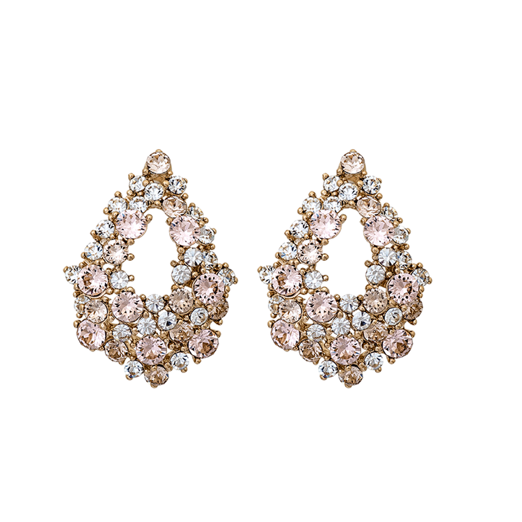 Lily and Rose - ALICE EARRINGS – LIGHT SILK