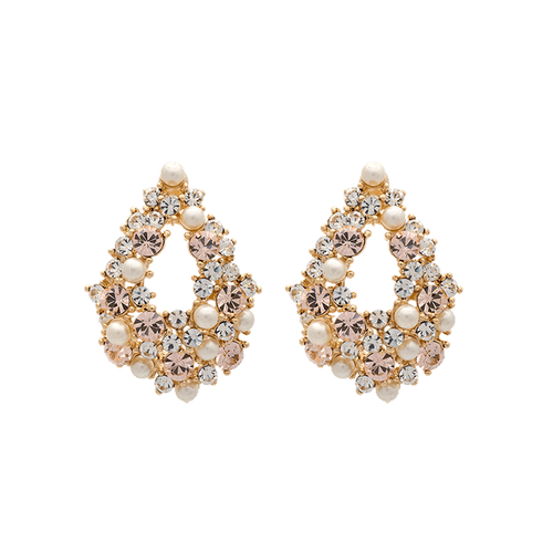 Lily and Rose - ALICE PEARL EARRINGS – IVORY SILK