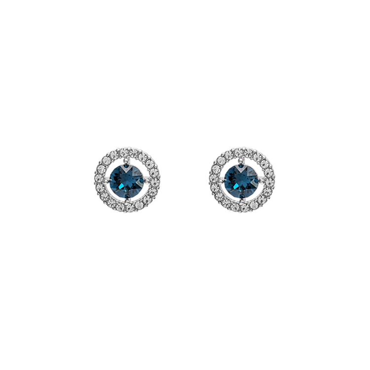 Lily and Rose - MISS MIRANDA EARRINGS – SILVER BLUE