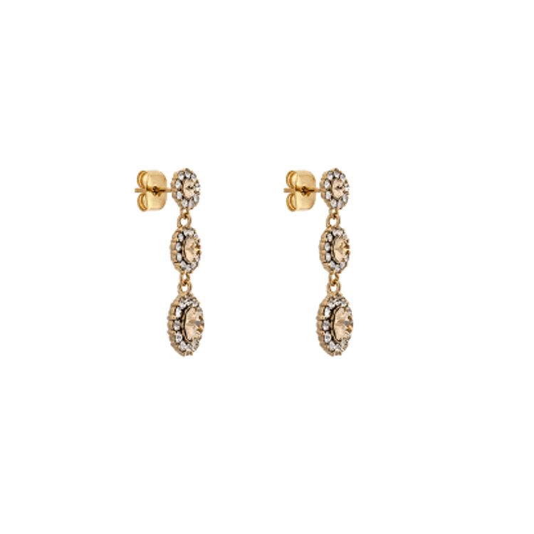 Lily and Rose - PETITE SIENNA EARRINGS – LIGHT SILK