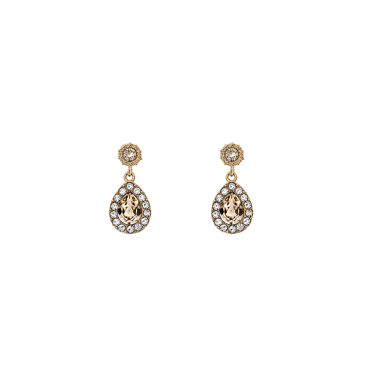 Lily and Rose - PETITE AMY EARRINGS – LIGHT SILK