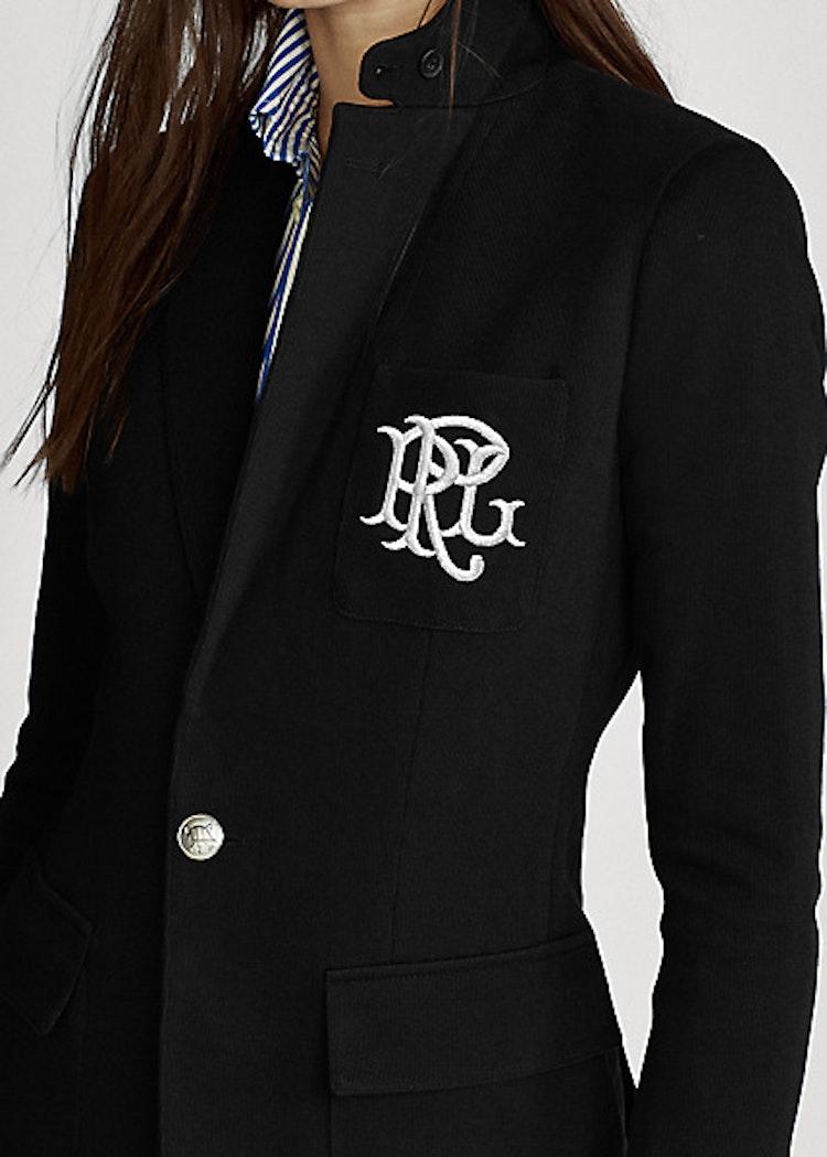 Polo Ralph Lauren - Double-Knit Jacquard Blazer - Black