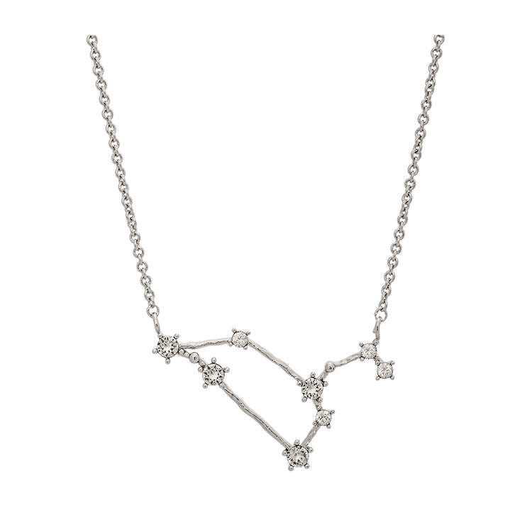 Lily and Rose - LEO STAR SIGN – CRYSTAL (SILVER)