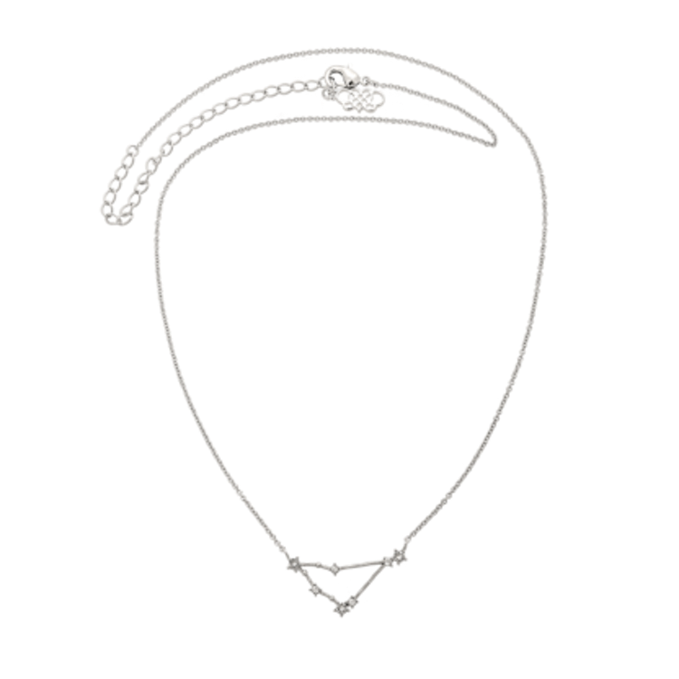 Lily and Rose - CAPRICORN STAR SIGN – CRYSTAL (SILVER)