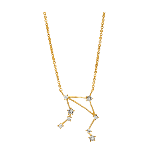Lily and Rose - LIBRA STAR SIGN – CRYSTAL (GOLD)