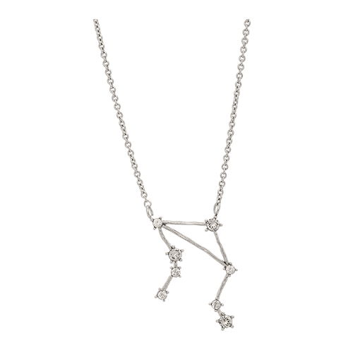 Lily and Rose - LIBRA STAR SIGN – CRYSTAL (SILVER)