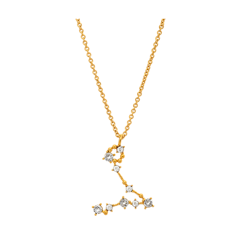 Lily and Rose - PISCES STAR SIGN – CRYSTAL (GOLD)