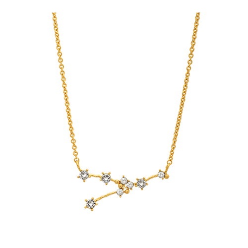 Lily and Rose - TAURUS STAR SIGN – CRYSTAL (GOLD)