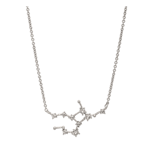 Lily and Rose - VIRGO STAR SIGN – CRYSTAL (SILVER)