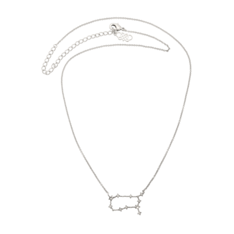 Lily and Rose - GEMINI STAR SIGN – CRYSTAL (SILVER)
