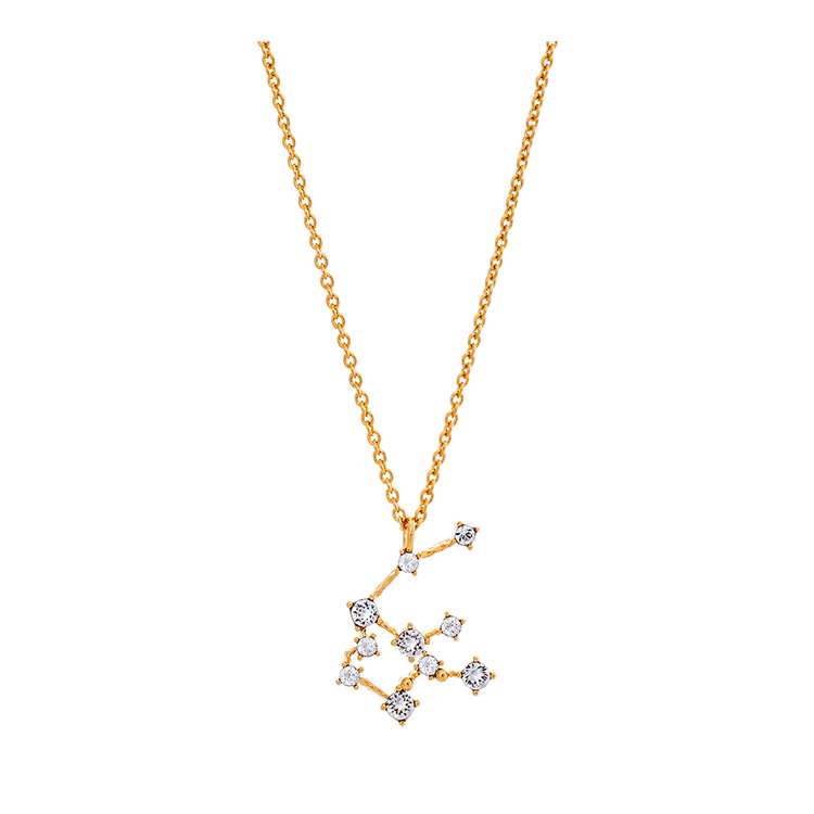 Lily and Rose - AQUARIUS STAR SIGN – CRYSTAL (GOLD)