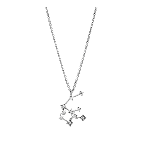 Lily and Rose - AQUARIUS STAR SIGN – CRYSTAL (SILVER)