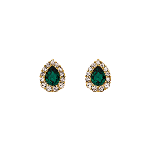Lily and Rose - AMELIE EARRINGS – EMERALD
