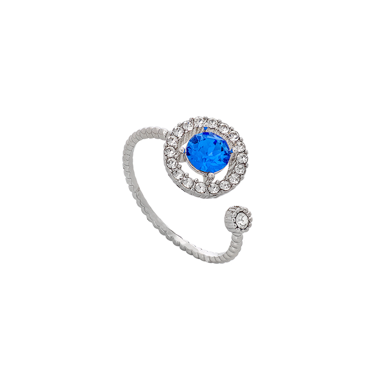 Lily and Rose - MIRANDA RING – SAPPHIRE (SILVER)