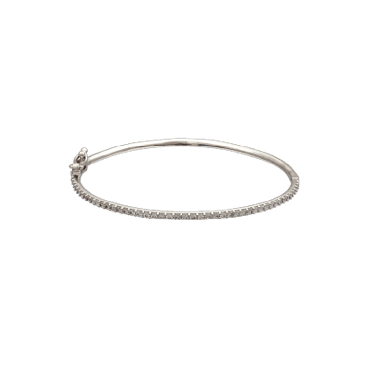 Lily and rose - KENNEDY BRACELET – CRYSTAL (SILVER)