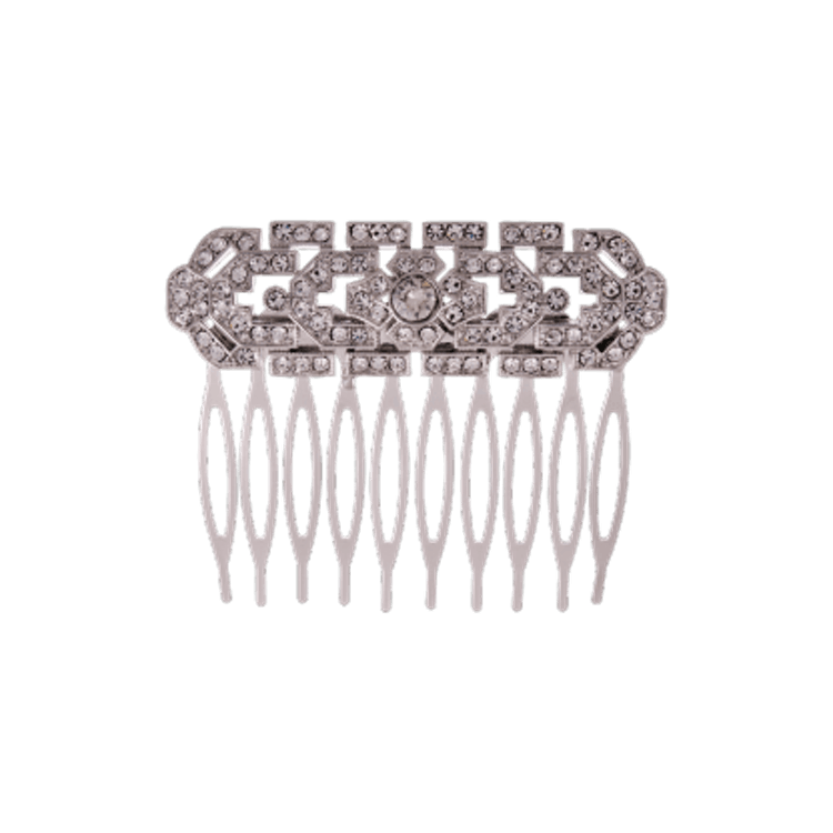 Lily and Rose - ELLINOR COMB – CRYSTAL (SILVER)