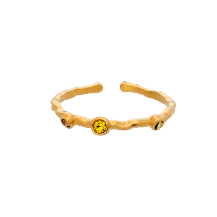 Lily and Rose - JAGGER RING – HONEYGOLD