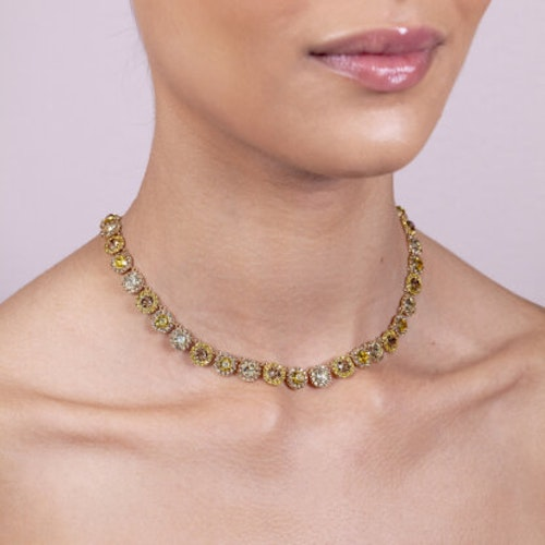 Lily and Rose - SOFIA AVANTGARDE NECKLACE – HONEYGOLD