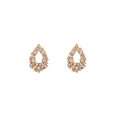Lily and Rose - PETITE ALICE EARRINGS – ROSE OPAL
