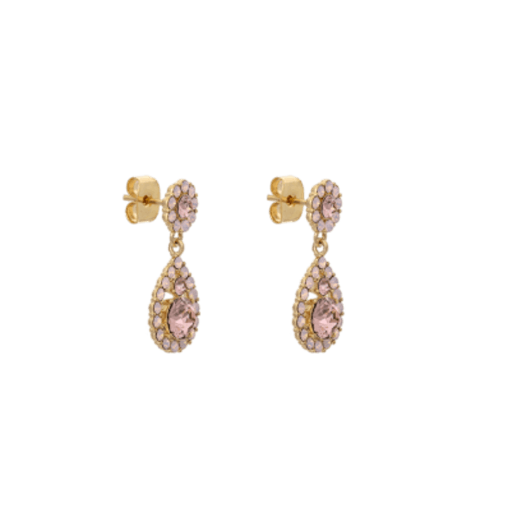 Lily and Rose - PETITE SOFIA EARRINGS – VINTAGE ROSE OPAL