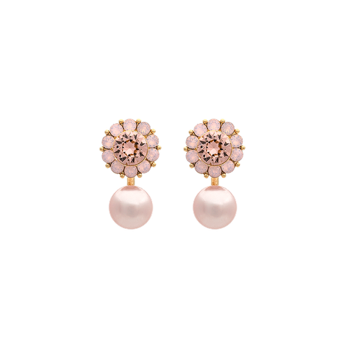Lily and Rose - MISS SOFIA BUTTERFLY EARRINGS – VINTAGE ROSE OPAL