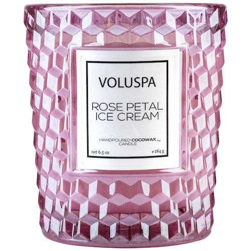 Voluspa - Rose  Petal Ice Cream - Classic Candle