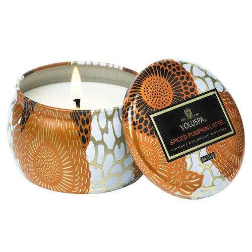 Voluspa - Spiced Pumpkin Latte Mini Tin Candle