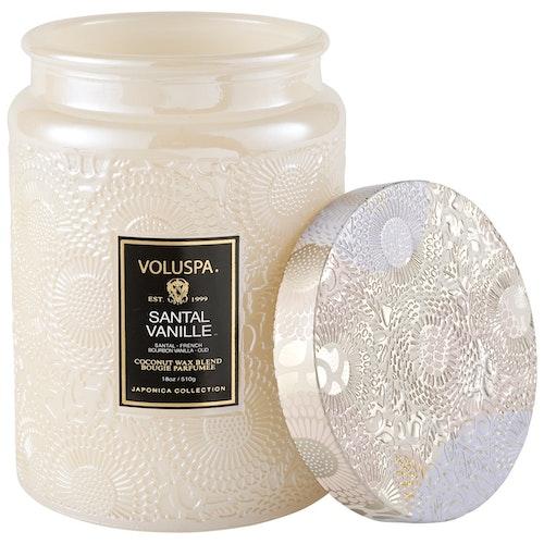 Voluspa - Santal Vanille Large Jar Candle