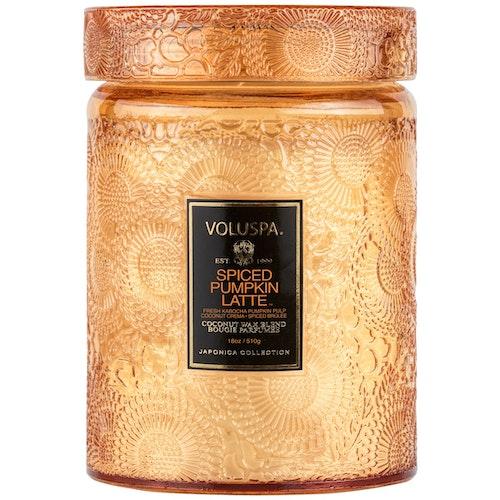Voluspa - Spiced Pumpkin Latte Large Jar Candle