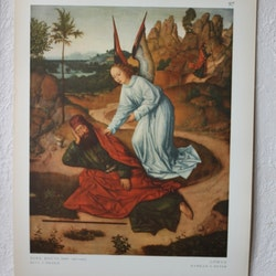 Bibelbild - Elia i öknen