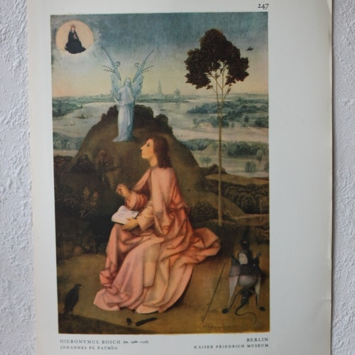 Bibelbild - Johannes på Patmos