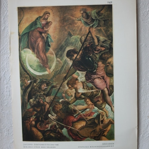 Bibelbild - Mikaels strid