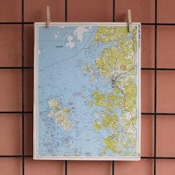 Karta - Bohusläns skärgård, Kosteröarna, Strömstad
