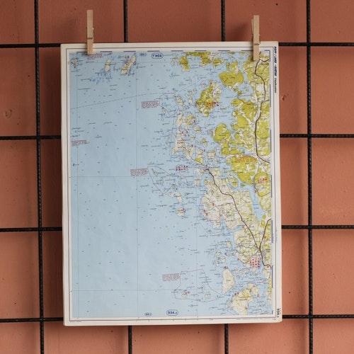 Karta - Bohusläns skärgård, Gräbbestad