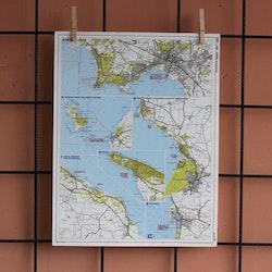 Karta - Halmstad, Torekov, Mölle