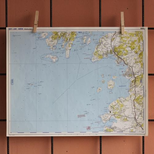 Karta - Kungsbackafjorden, Vendelsöfjorden