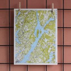 Karta - Lysekil, Gullmarn